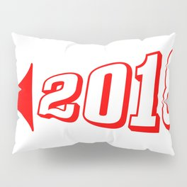 Red 2018 Megaphone Pillow Sham