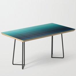 Teal to Indigo Ombre Design Coffee Table
