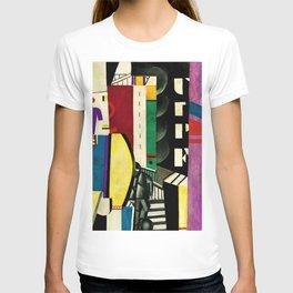 The City - La Ville by by Fernand Léger T-shirt