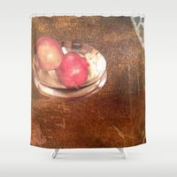 thanksgiving Shower Curtains featuring Thanksgiving by Bonnie M. Cummings ~ BeauCollage