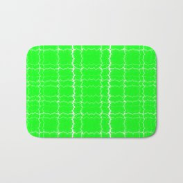 jagged, green Bath Mat