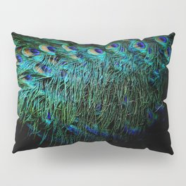 Peacock Details Pillow Sham