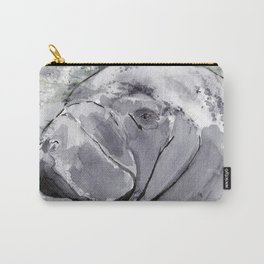 Manatee - Animal Series in Ink Carry-All Pouch