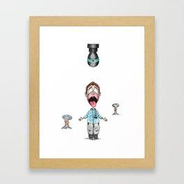 Droppin' Framed Art Print