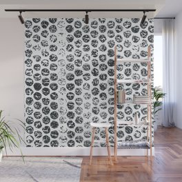Bubble Impressions Wall Mural