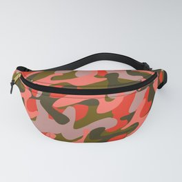 Coral Camouflage 2 Fanny Pack