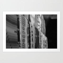 Blankets on Blankets Art Print