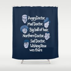 Angry Doctor Shower Curtain