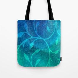 Winter Leaves Tote Bag