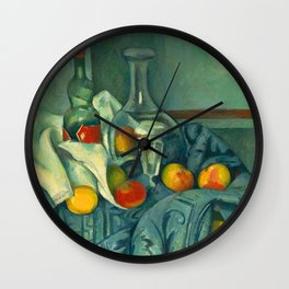 The Peppermint Bottle (Detail) Wall Clock
