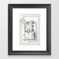 jaded Framed Art Print