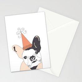 FrenchBulldogBday Stationery Cards
