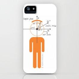 decaf euler iPhone Case
