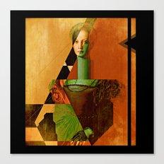 LucreziaV.3-Bronzino. Canvas Print