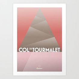 Col du Tourmalet / Cycling Art Print