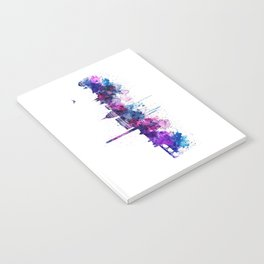 Washington DC Skyline Notebook