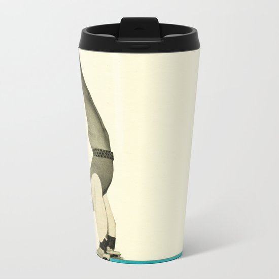 Skater Tricks Metal Travel Mug