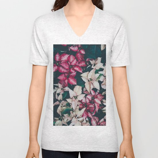 Botanical Beauty Unisex V-Neck