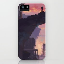 Crumble Canyon iPhone Case