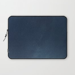 Night sky backgrounds with stars and clouds Laptop Sleeve