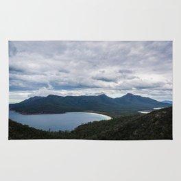 Wineglass Bay, Tasmania Rug