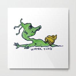 Water Slug by Sky Metal Print