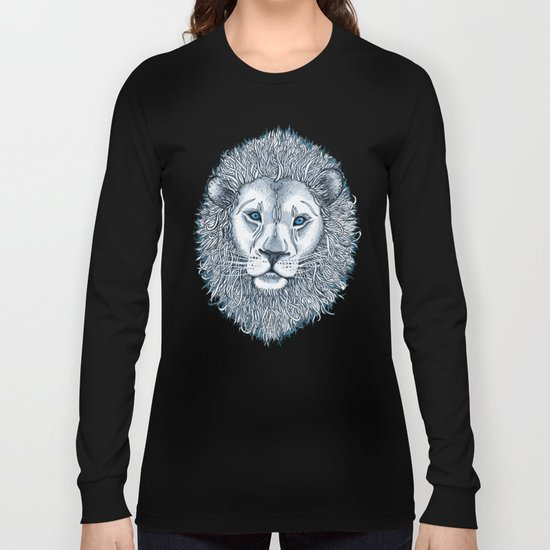 Blue Eyed Lion Long Sleeve T-shirt