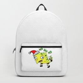 Sponge Square Pants Christmas Backpack