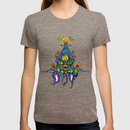 Levitating Mind Creature  T-shirt