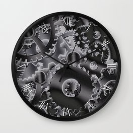 Cog wheels Wall Clock