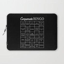 Corporate Jargon Buzzword Bingo Card Laptop Sleeve