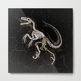 Dino Fossil 2 Metal Print