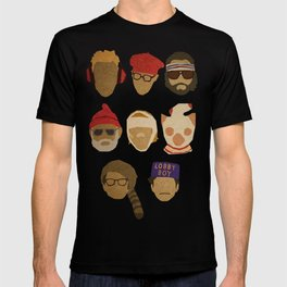 Wes Anderson Hats T-shirt