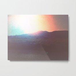 Santorini Sunrise Metal Print