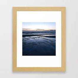 Blue Call of the Sea Framed Art Print