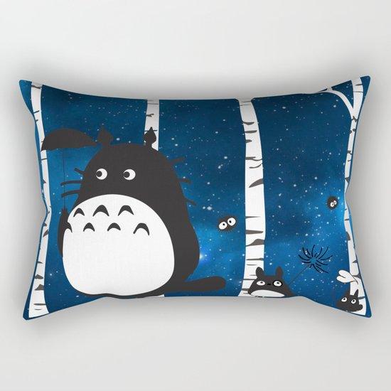 walk in the woods Rectangular Pillow