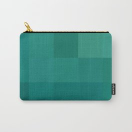 BLOCKS - GREEN TONES - 1 Carry-All Pouch