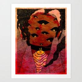 The Pestilence Art Print