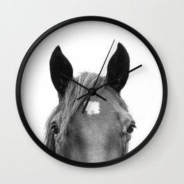 Peeking Horse Wall Clock