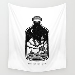 COLLECT MEMORIES Wall Tapestry