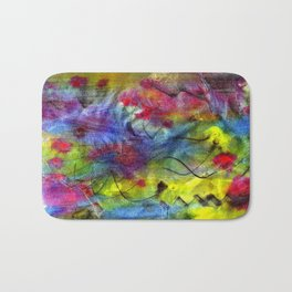Spring Time Painting  Bath Mat