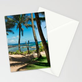 Kuau Beach Paia Maui North Shore Hawaii Stationery Cards