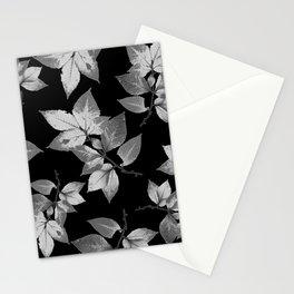Elegant Leaves Stationery Cards