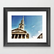 London by iPhone 2 Framed Art Print
