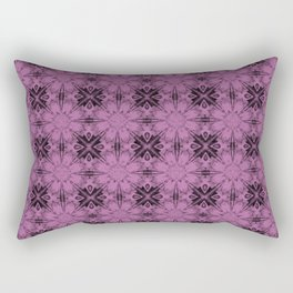 Bodacious Floral Geometric Rectangular Pillow