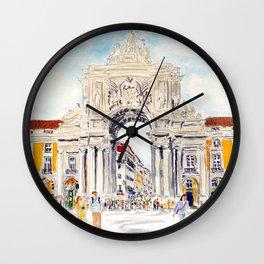 Praça do Comércio, Lisboa Wall Clock