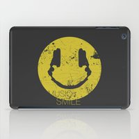 lorde iPad Cases featuring Music Smile by Sitchko Igor