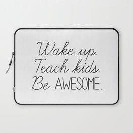 Awesome Teacher Laptop Sleeve
