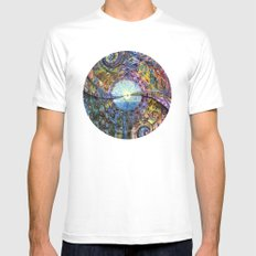 Water Consciousness White Mens Fitted Tee MEDIUM