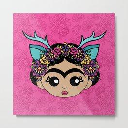 Azule Frida Metal Print